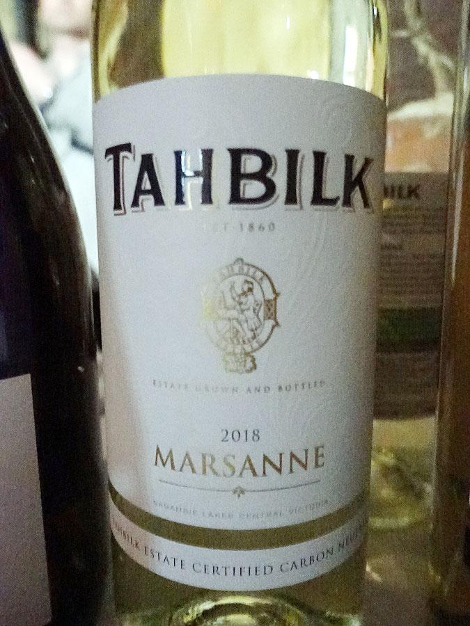 Tahbilk Marsanne 2018 (89 pts)