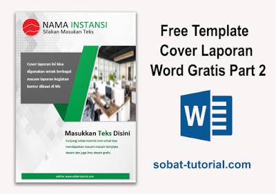 Free Template Cover Laporan Word Gratis Part 2