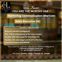 Jobs Vacancy ata eL Hotels Surabaya November 2019
