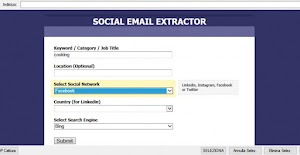Download Social Email Extractor 3.0 with Key Patch