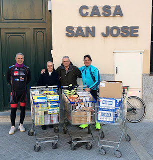 Ciclismo Aranjuez Comedor Social