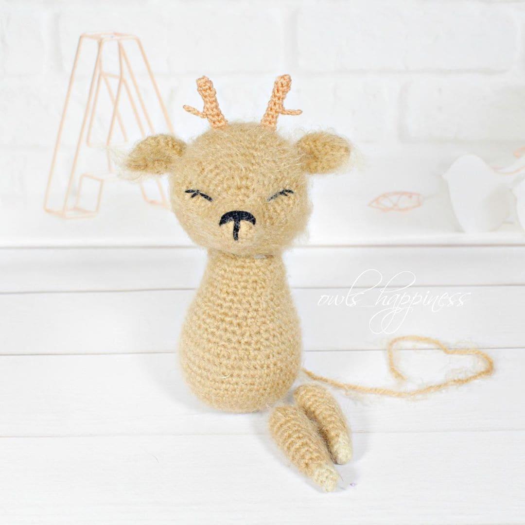 Crochet deer tutorial