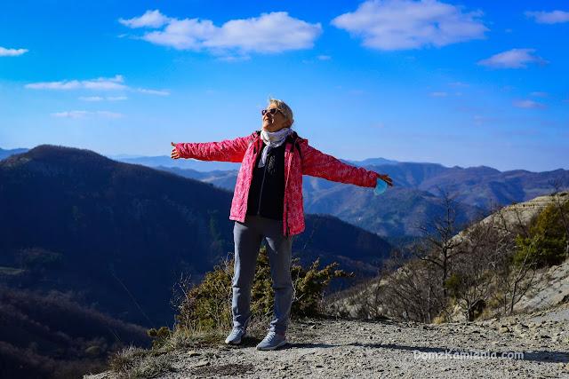 trekking Dom z Kamienia, Marradi