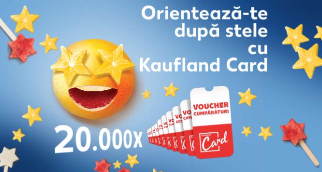 Concurs Kaufland Card digital - Castiga 20.000 de vouchere digitale de cumparaturi Kaufland - concursuri - online - 2021
