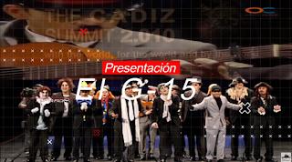 """Presentación con Letra Comparsa """"El G-15"""" de David y Francisco Javier Márquez Mateos (2010)"""