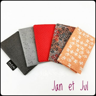 Packs de telas Jan et Jul