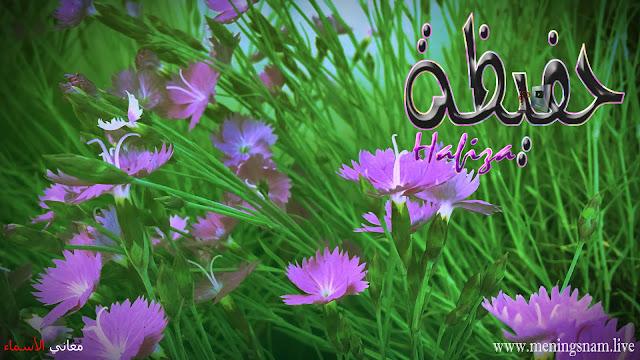 معنى اسم حفيظة وصفات حاملة هذا الاسم Hafiza