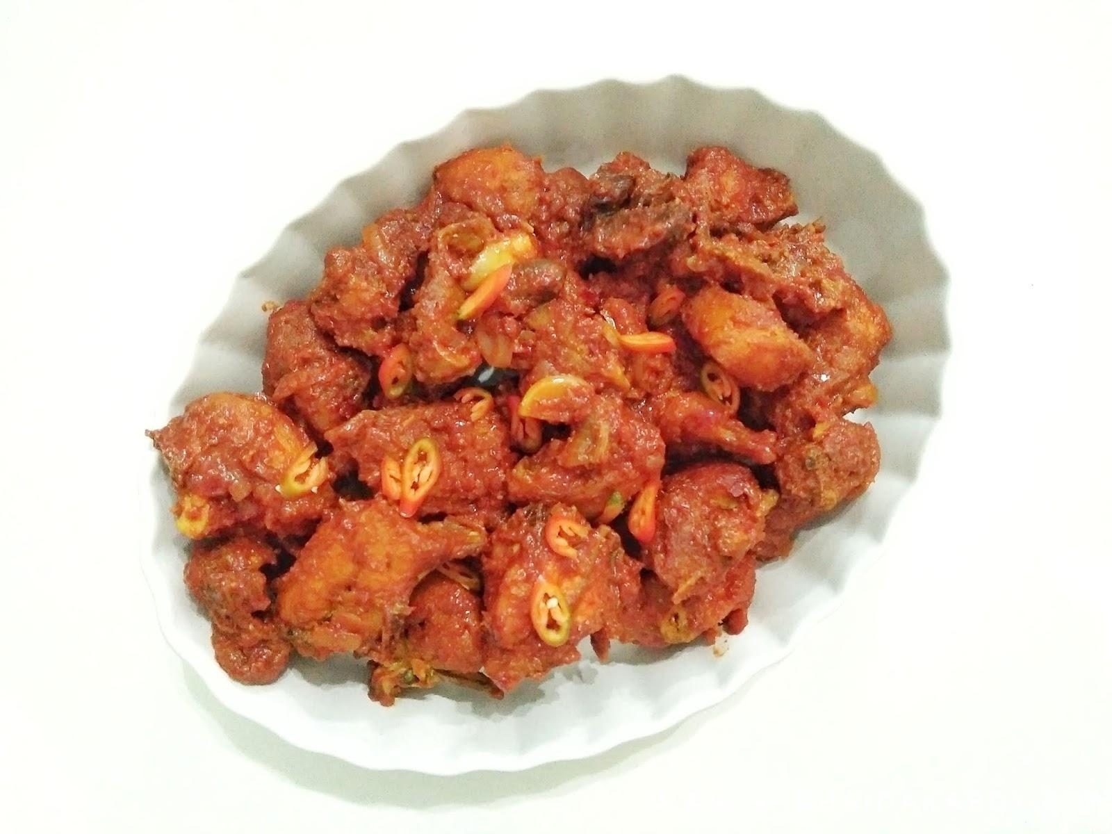 Resepi Ayam Masak Sambal