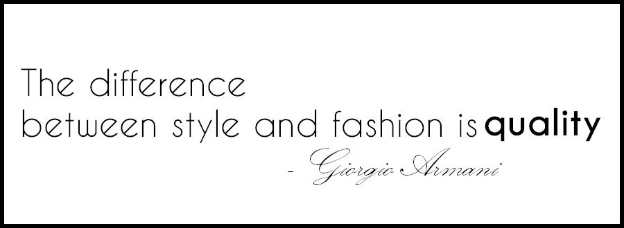 najlepsze cytaty o modzie, fashion quotes, armani quote