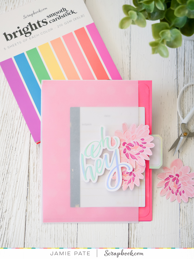 How Use the new Brights Smooth Cardstock | DIY Card