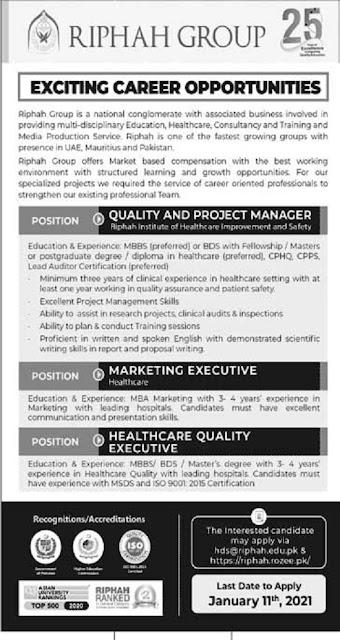 riphah-international-university-jobs-2021-advertisement