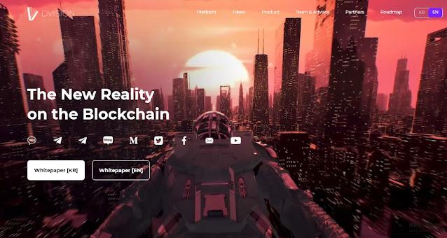 Tampilan Halaman Website Dvision Network (DVI)