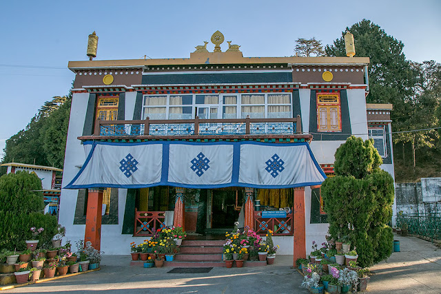 Buddhist Monastery Happy Valley Mussoorie