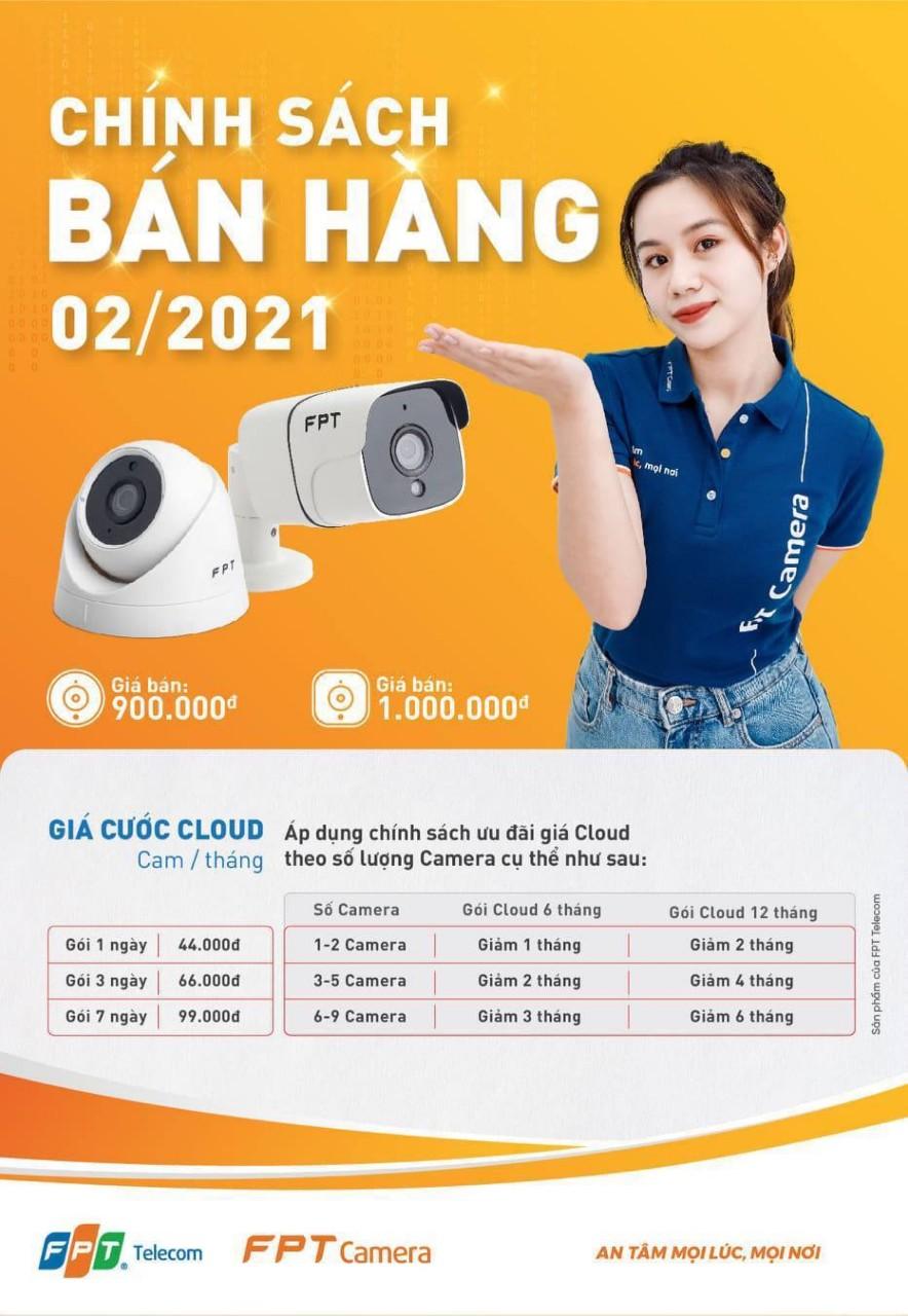 Đặt mua Camera FPT tháng 02/2021 nhận ngay ưu đãi