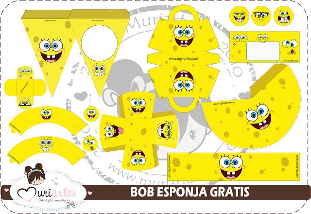 Desenhos Para Imprimir E Colorir Do Bob Esponja