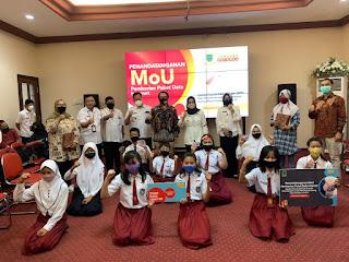 PJJ, 15.609 Siswa di Kota Mojokerto Dapat Paket Data Internet Gratis