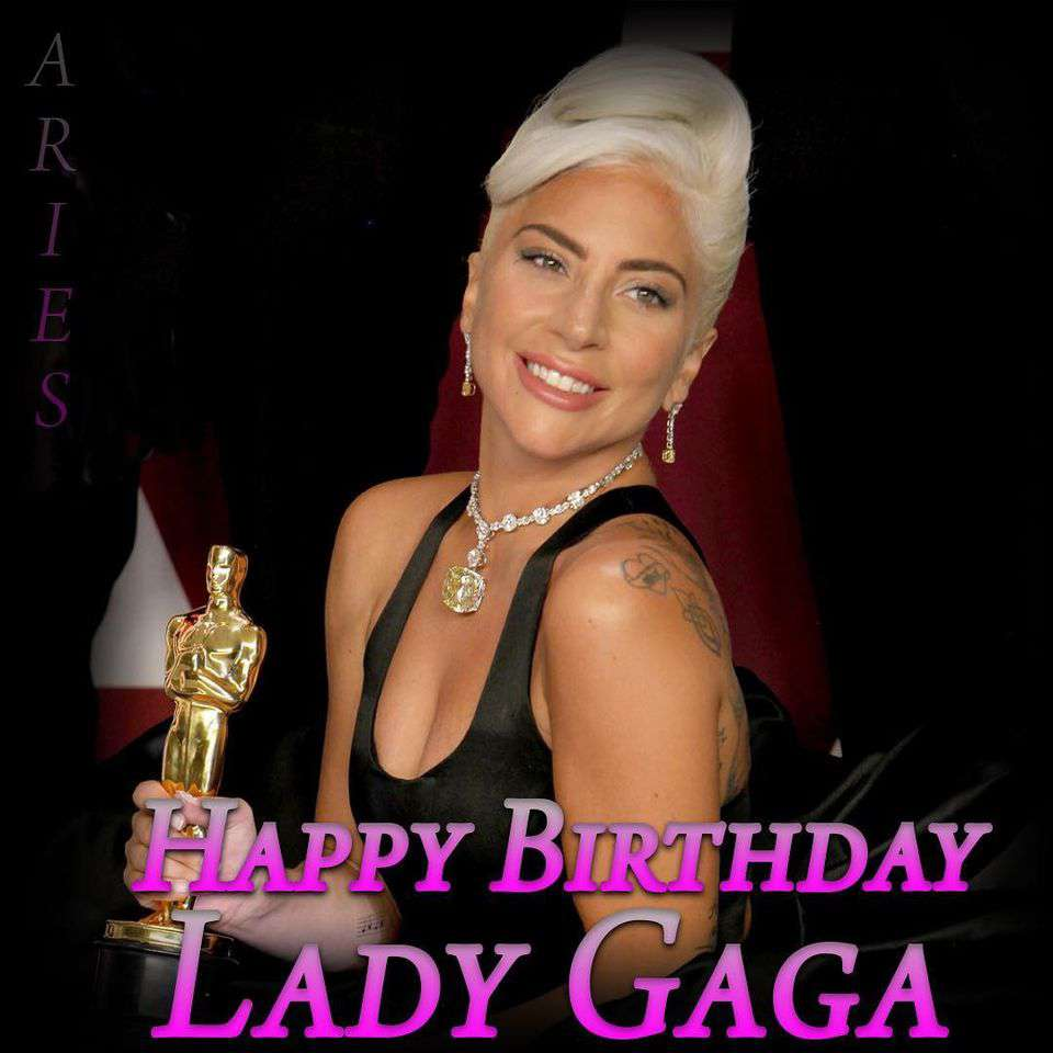 Lady Gaga's Birthday Wishes for Instagram