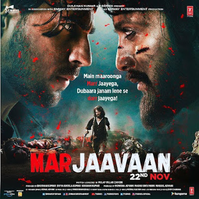 Marjaavaan Trailer 2019 | Marjaavaan Bollywood Movie 2019 | Marjaavaan Star Cast, Release Date,Song, Movie,Poster