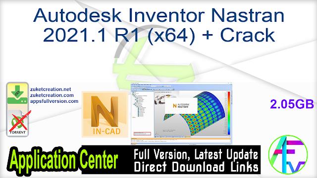 Autodesk Inventor Nastran 2021.1 R1 (x64) + Crack