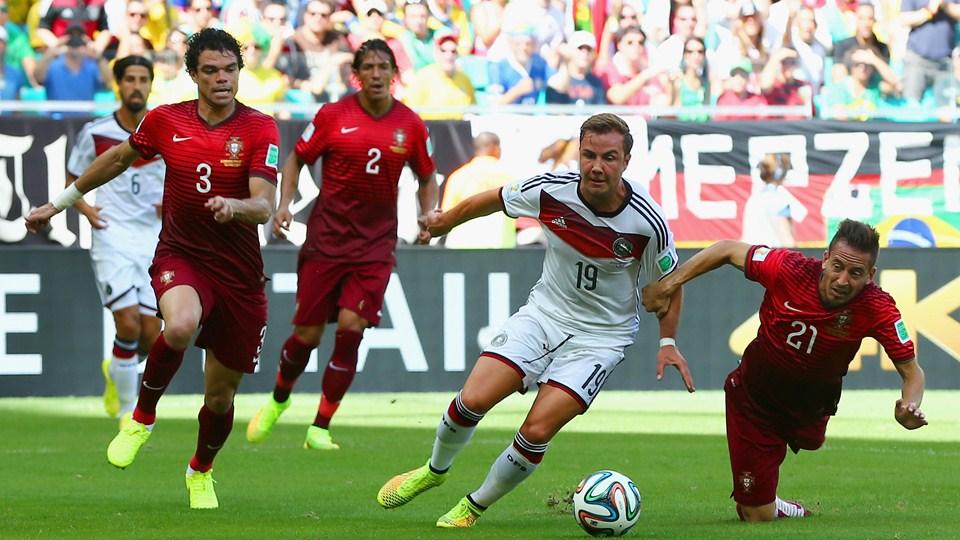 مباراة المانيا والبرتغال في كأس الامم الاوروبيه