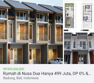 Dijual rumah Kampial Nusa Dua