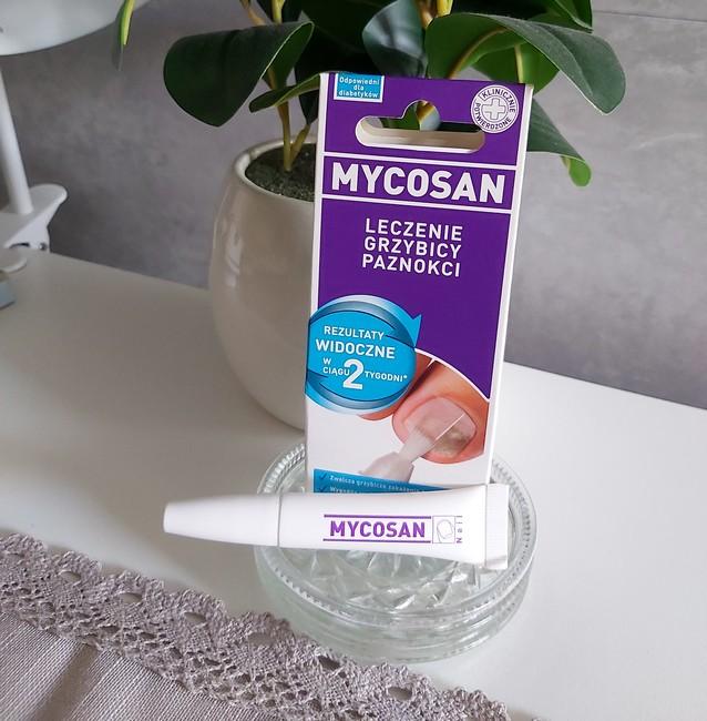MYCOSAN skuteczny produkt w pędzelku na problem z paznokciami