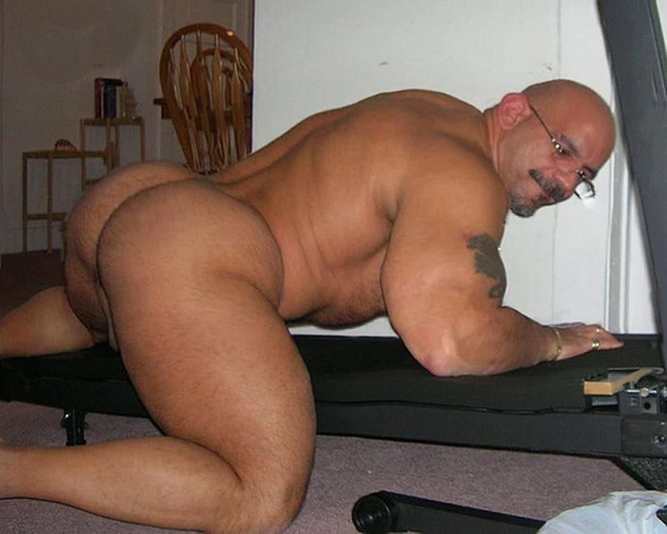 black muscle butt