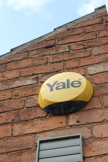 Yale siren at back of house