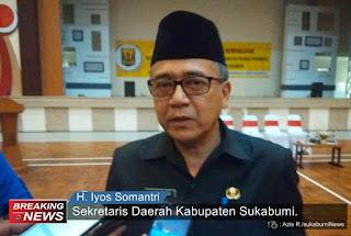 Sekda Kabupaten Sukabumi Iyos Somantri