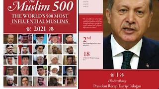 Erdogan Jadi Tokoh Muslim No.1 Paling Berpengaruh di Dunia
