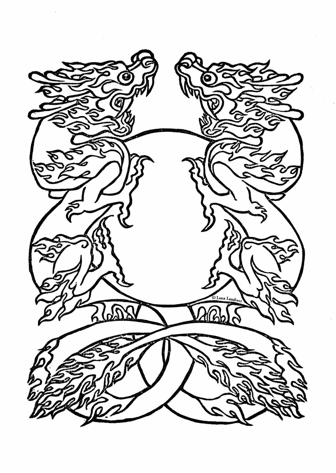 lambert press free coloring book page