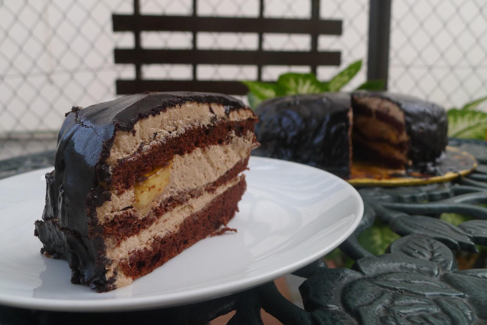 Banana Cake Recipe Chocolate Icing: 32 Degree Celsius: Chocolate Banana Cake (Secret Recipe