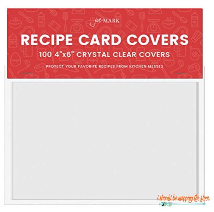 Recipe Card Covers