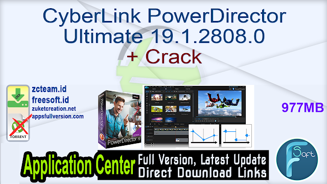 CyberLink PowerDirector Ultimate 19.1.2808.0 + Crack_ ZcTeam.id