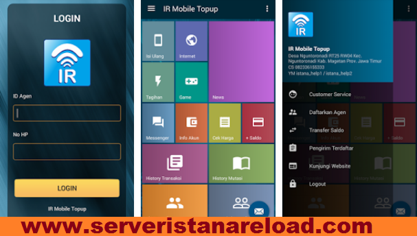 Istana Reload Server Ke-3 CV. Multi Payment Nusantara