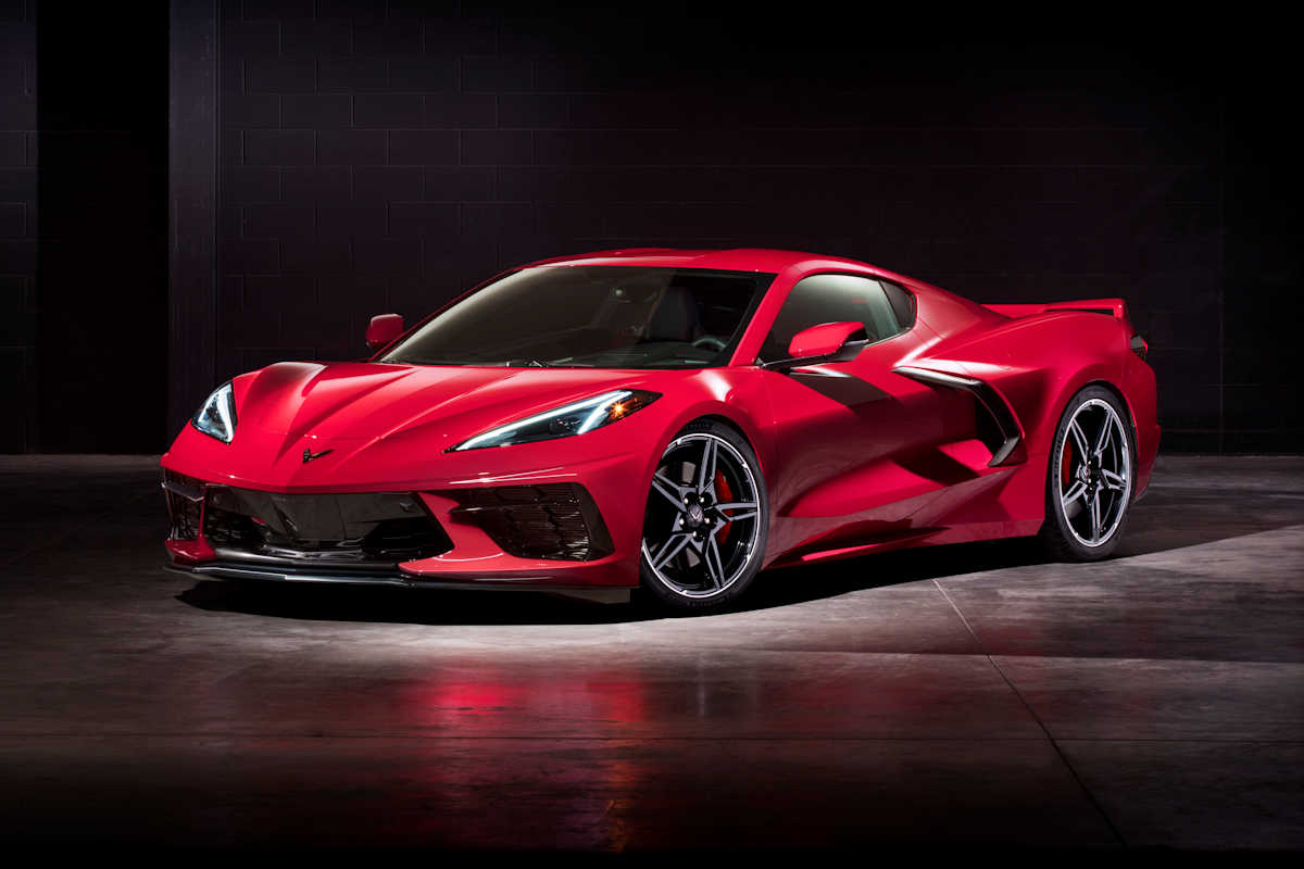 The First-Ever Mid-Engined Chevrolet Corvette is Revealed ...