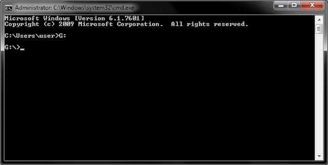 Mengembalikan file yang terhidden oleh virus
