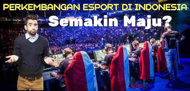 Perkembangan Esport di Indonesia