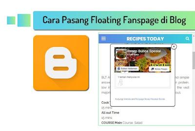Cara Pasang Floating Fanspage di Blog
