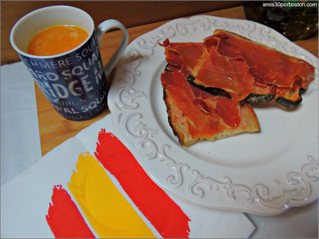 Desayuno al Estilo Español en Boston