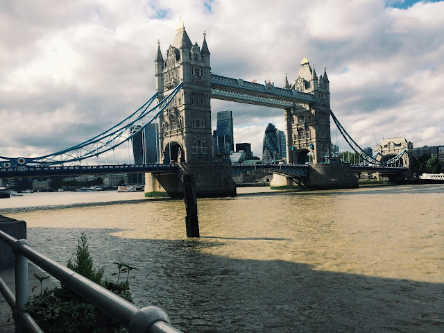 Tower Bridge, taken from South Bank near Shad Thames