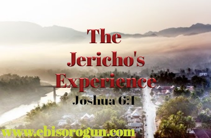 THE JERICHO EXPERIENCE..