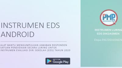 Panduan Aplikasi Instrumen EDS Android, Alat Bantu Pengumpulan Data EDS Tahun 2020
