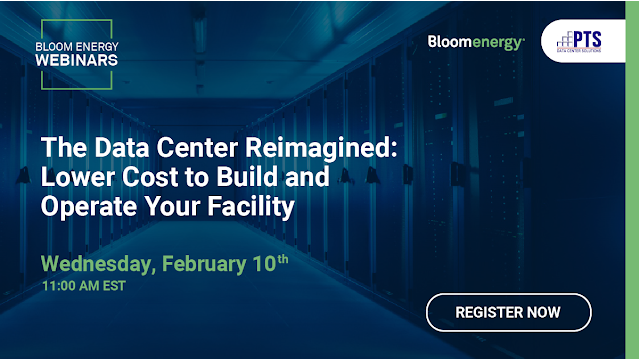 Webinar: The Data Center Reimagined – Lower Cost to Build and Operate Your Facility