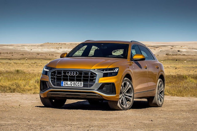 Review The New Audi SQ8 TDI Which launched with 429bhp