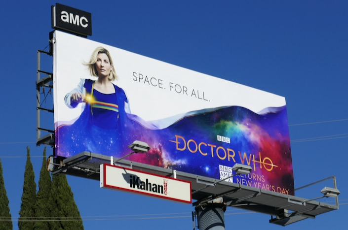 Doctor Who season 12 billboard