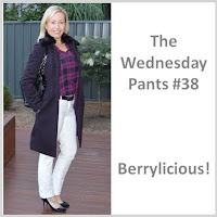 Sydney Fashion Hunter - The Wednesday Pants #38 - Berrylicious