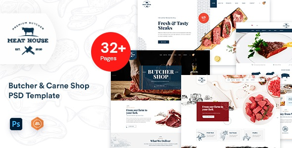 Best Butcher and Carne Shop template