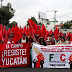 Yucatecos se suman a marcha nacional para exigir políticas públicas a favor del agro
