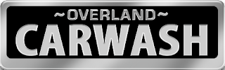 Overland car wash logo